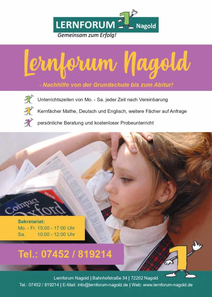 Nachhilfe Nagold Mathe Deutsch Englisch Grundschule